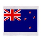 New Zealand Flag Throw Blanket
