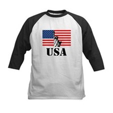 Statue of Liberty, US Flag Tee