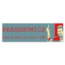Reaganomics Raping America since 1981