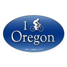 Bike Oregon Oval