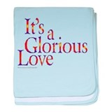 Glorious Love baby blanket