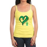 Ovarian Cancer Love Faith Singlets