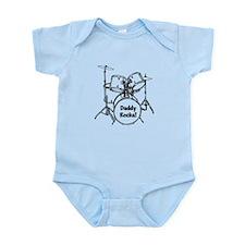 My Dad Rocks! Infant Bodysuit