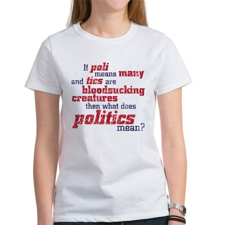 what does politics mean? Women's T-Shirt