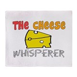 Food Love Whisperers Throw Blanket