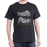 US Navy WWII Motorcycle T-Shirt