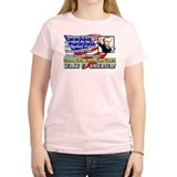 """Obama Is An Idiot"" Women's Color T-Shir"