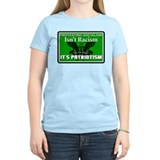 """Protesting Socialism"" Women's Color T-S"