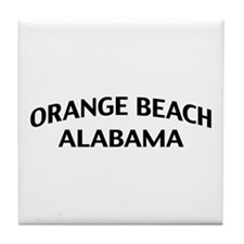 Orange Beach Alabama Tile Coaster