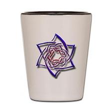 Celtic Star Shot Glass