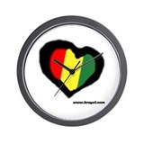 Rasta Wall Clock