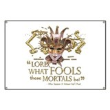 Shakespeare Fools Quote Banner