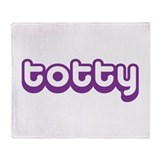 Totty Throw Blanket