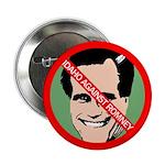 Idaho Against Mitt Romney button