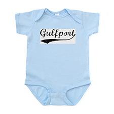 Vintage Gulfport Infant Creeper