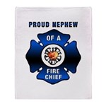 Fire Chief's Nephew Throw Blanket