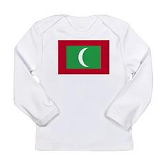 Maldives1 Long Sleeve Infant T-Shirt