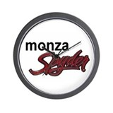 Chevy Monza spyder Wall Clock Design 3