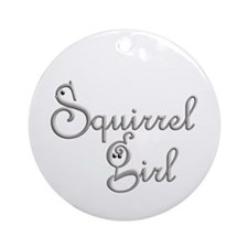 Squirrel Girl Ornament (Round)