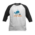 Little Cousin - Mod Whale Kids Baseball Jersey