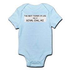 Best Things in Life: Royal Oa Infant Creeper