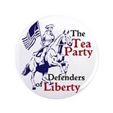 "Tea Party 3.5"" Button"