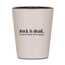 Rock is dead. Long live paper Shot Glass
