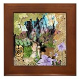 Observe Forest Framed Tile