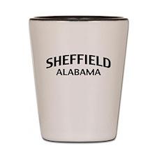 Sheffield Alabama Shot Glass