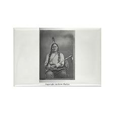 Sitting Bull Rectangle Magnet