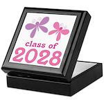 2028 Girls Graduation Keepsake Box