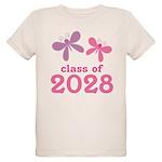 2028 Girls Graduation Organic Kids T-Shirt
