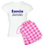 Exercise The Poor Man's Plast Women's Light Pajama