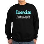Exercise The Poor Man's Plast Sweatshirt (dark)