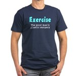 Exercise The Poor Man's Plast Men's Fitted T-Shirt