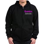 Exercise The Poor Man's Plast Zip Hoodie (dark)