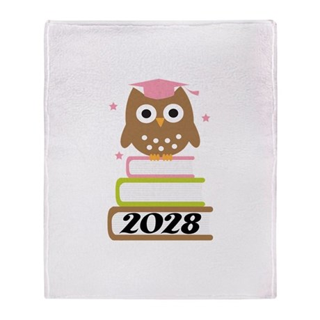 2028 Top Graduation Gifts Throw Blanket