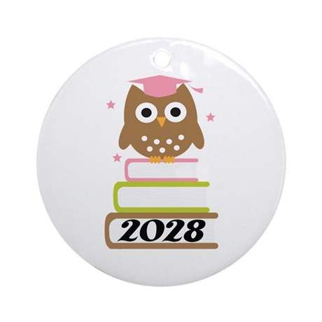 2028 Top Graduation Gifts Ornament (Round)