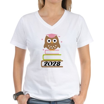 2028 Top Graduation Gifts Women's V-Neck T-Shirt
