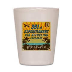 351st EARS Shot Glass