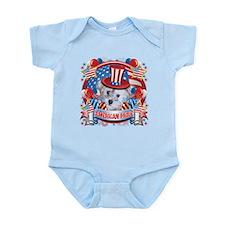 American Pride Schnoodle Infant Bodysuit
