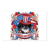 American Pride Pekingese Postcards (Package of 8)