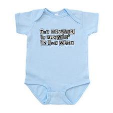 Blowin' in the Wind/Dylan Infant Bodysuit