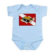 Dive Humu Infant Bodysuit