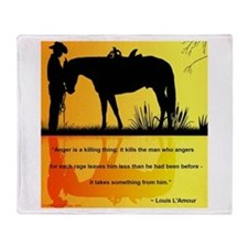 Louis L'Amour Throw Blanket