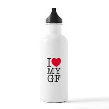 I Love My Girlfriend Water Bottle