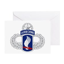 173rd Airborne Master Greeting Card