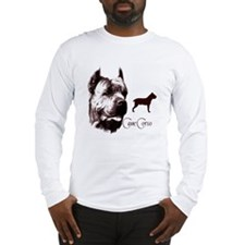 Cane Corso on Long Sleeve T-Shirt