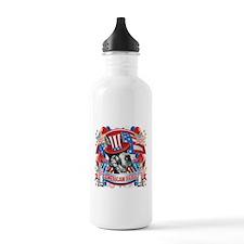 American Pride Great Dane Water Bottle