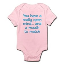 Open Mind and Mouth Infant Bodysuit